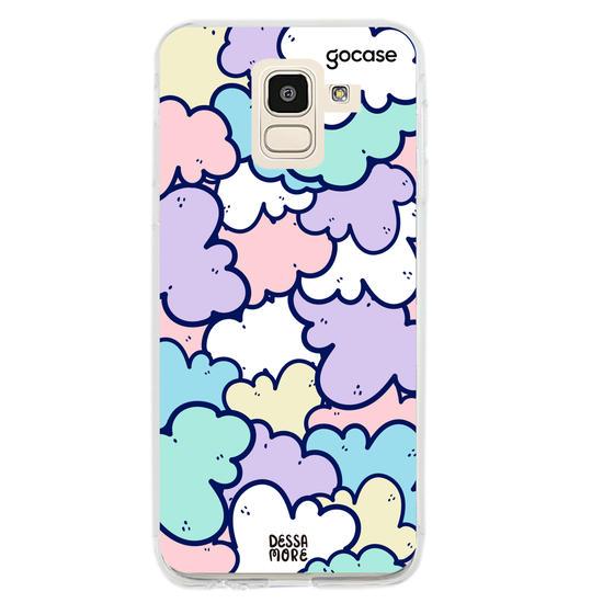 Capinha para celular Nuvens Candy