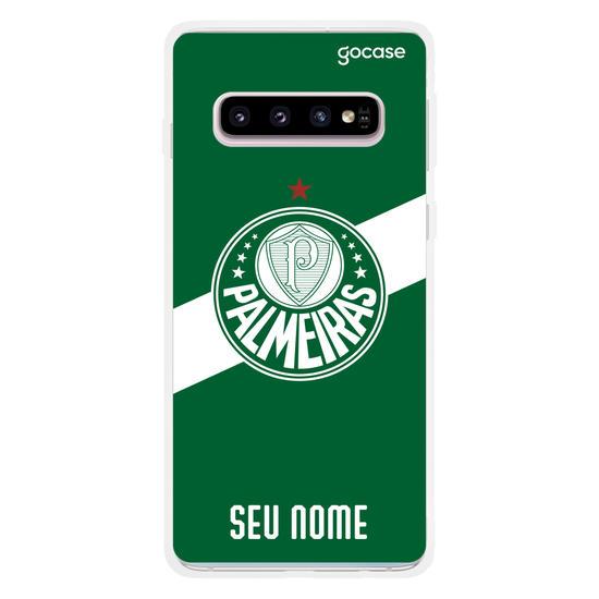 Capinha para celular Palmeiras - Bandeira Personalizável