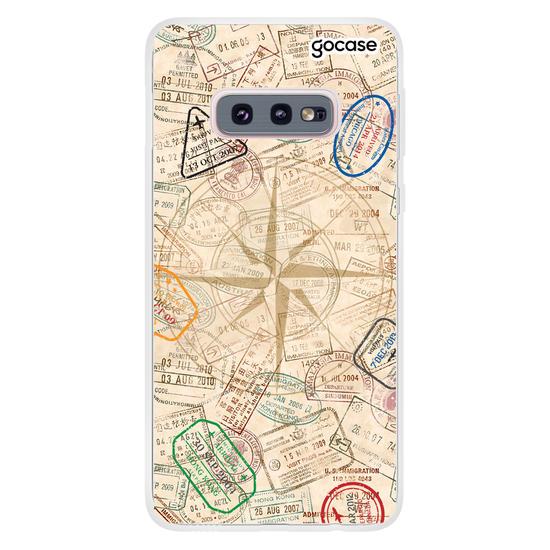 Capinha para celular Passaporte Manuscrita