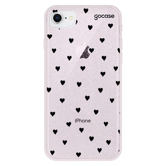 Capinha para celular Black Hearts