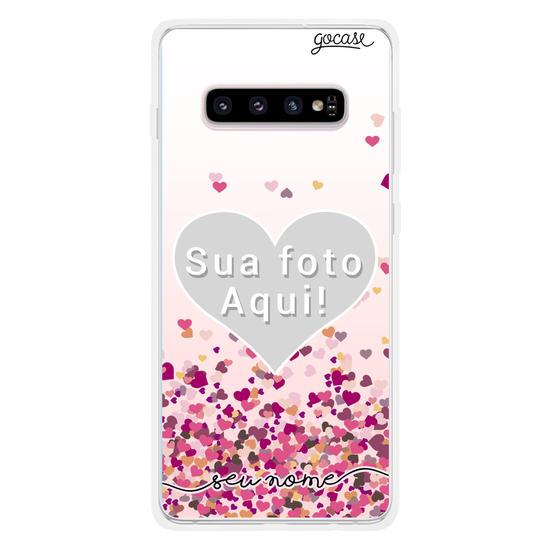Capinha para celular Picture - Corações Flutuantes