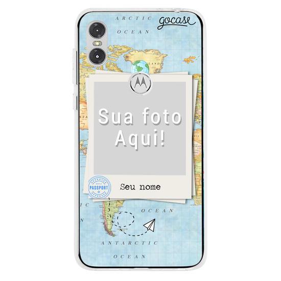 Capinha para celular Picture - Mapa Mundi