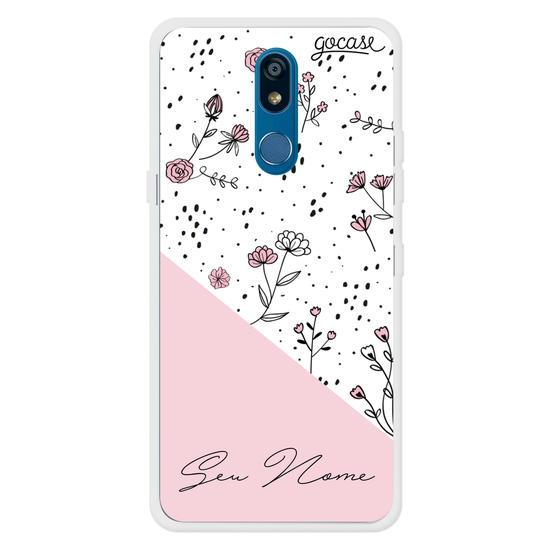 Capinha para celular Pink & Delicate Customizável