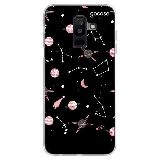 Capinha para celular Pink Planets