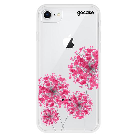 Capinha para celular Pink Bolhas