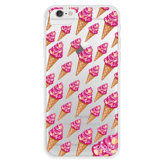 Pink Ice Cream Phone Case