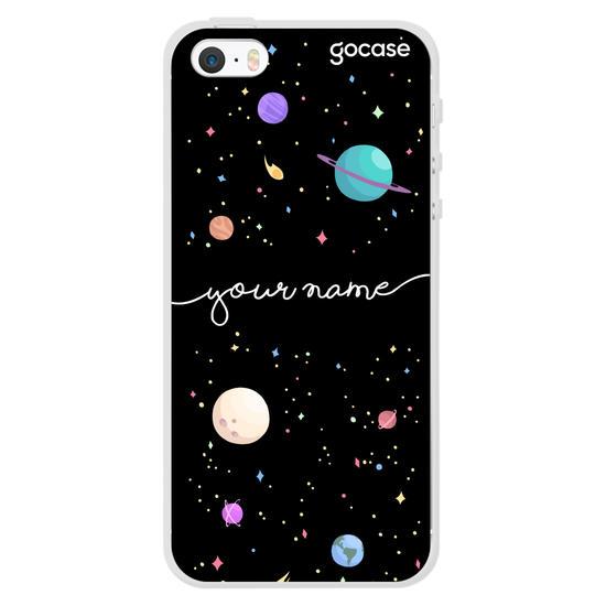 Planets Handwritten Phone Case