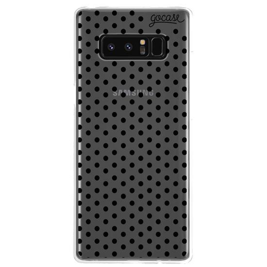 Black Dots Phone Case