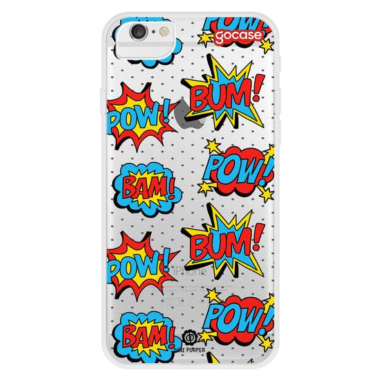 Capinha para celular Pop Art