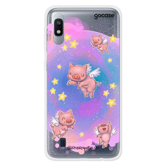 Capinha para celular Porcos Voadores