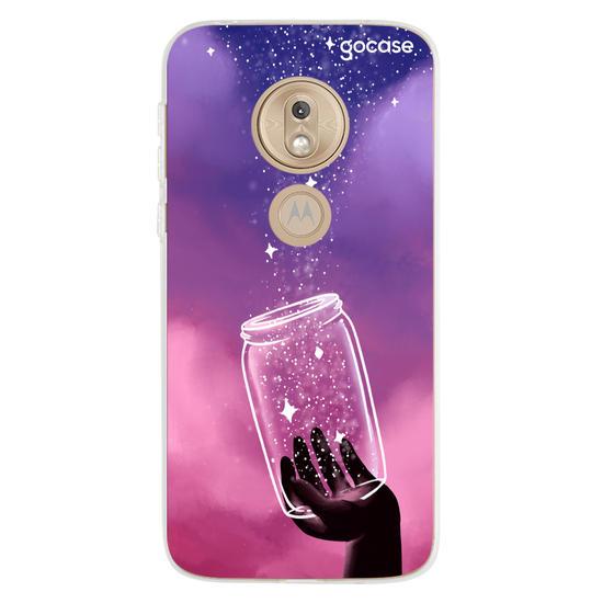 Capinha para celular Potinho de Estrelas