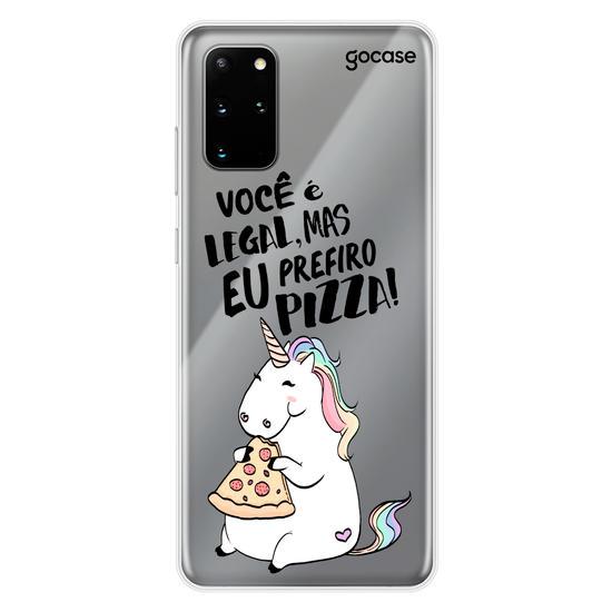 Capinha para celular Prefiro Pizza