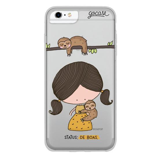 Capinha para celular Preguiça Pof