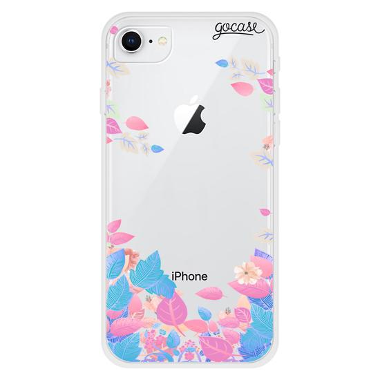Capinha para celular Primavera Pink Clean