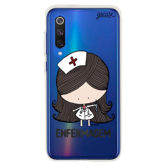 Capinha para celular Profissão Enfermagem