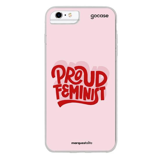 Capinha para celular Proud Feminist