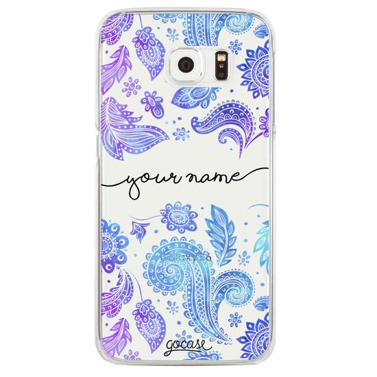 Purple Handwritten Phone Case