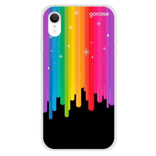 Capinha para celular Rainbow And Stars