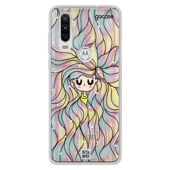 Capinha para celular Rainbow Hair