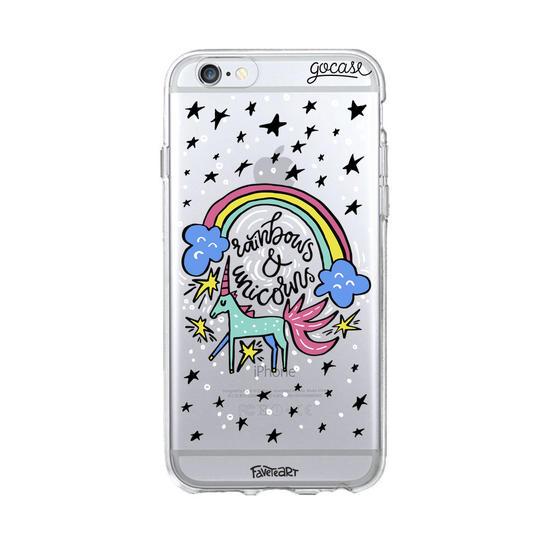 Rainbows and Unicorns Phone Case