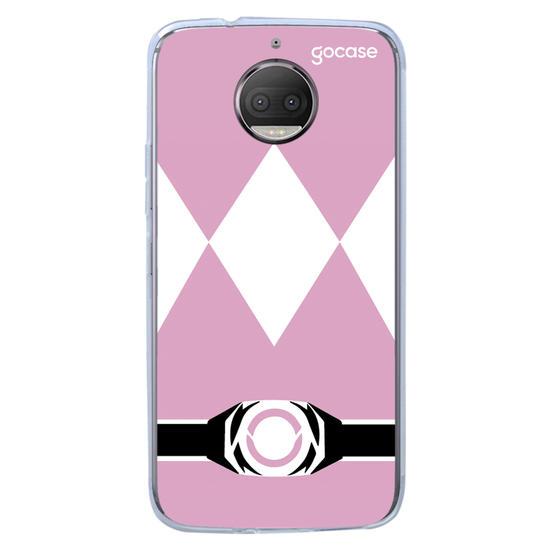 Capinha para celular Ranger Rosa
