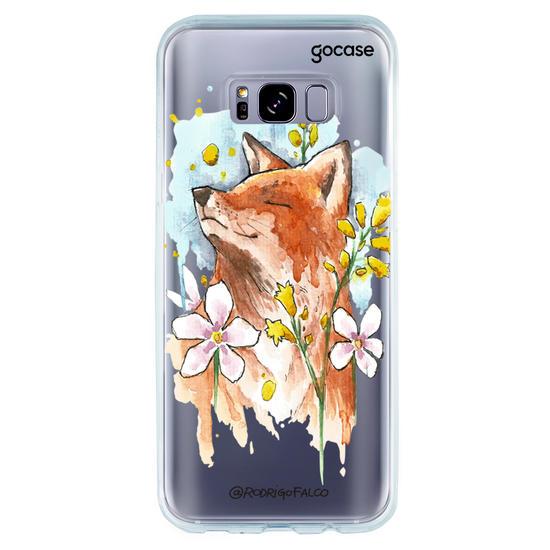 Capinha para celular Raposa Primavera
