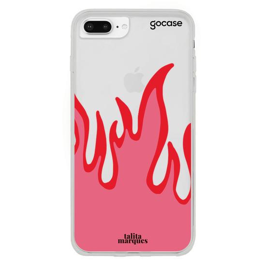 Capinha para celular Red Fire