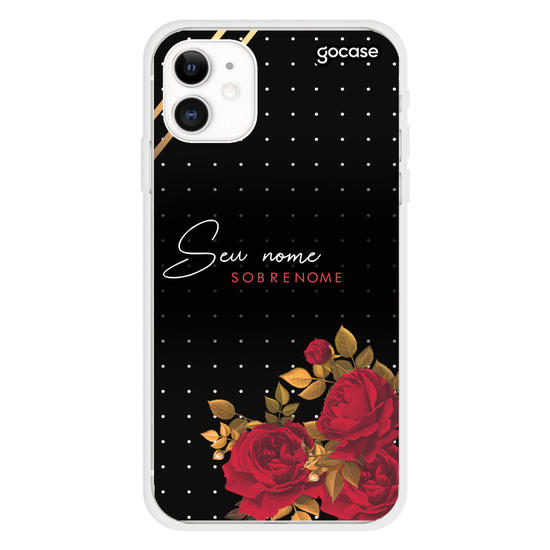 Capinha para celular Red Rose Customizada