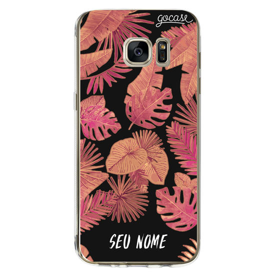 Capinha para celular Red Tropical