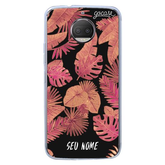 Capinha para celular Red Tropical