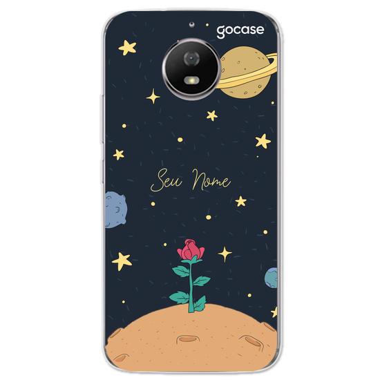 Capinha para celular Rosa do Príncipe