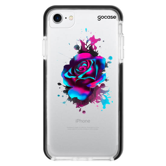 Neon Rose Phone Case