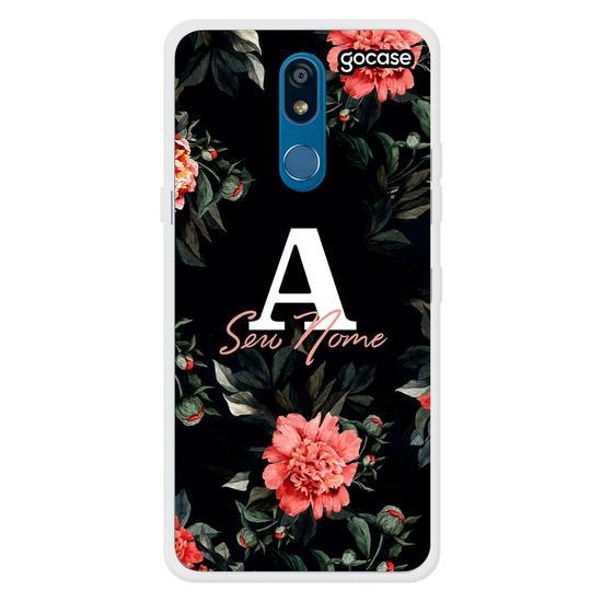 Capinha para celular Rosas Vermelhas Inicial Fancy
