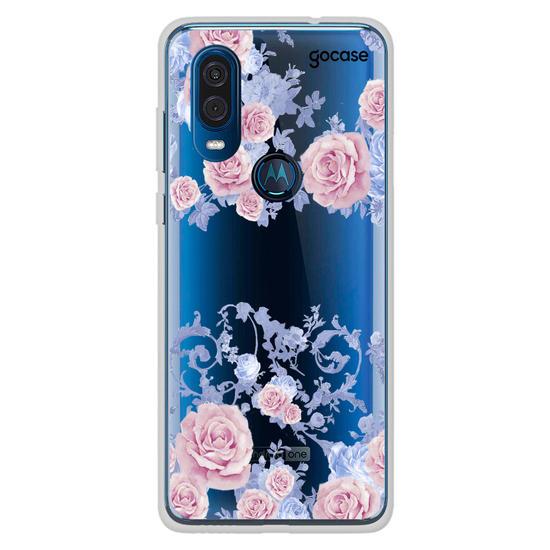 Capinha para celular Rosé Garden Clean Manuscrita
