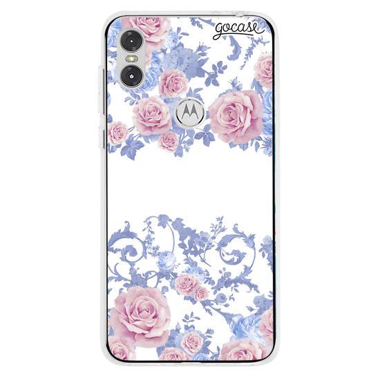 Capinha para celular Rosé Garden Manuscrita