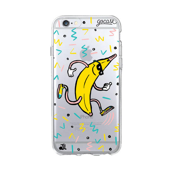 Running Banana Phone Case