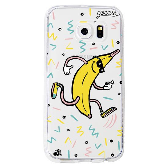 Running Banana Phone Case