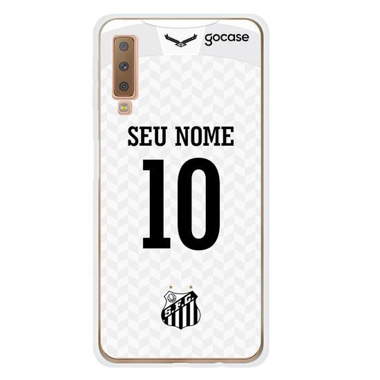 Capinha para celular Santos - Uniforme 1 2020 Personalizado