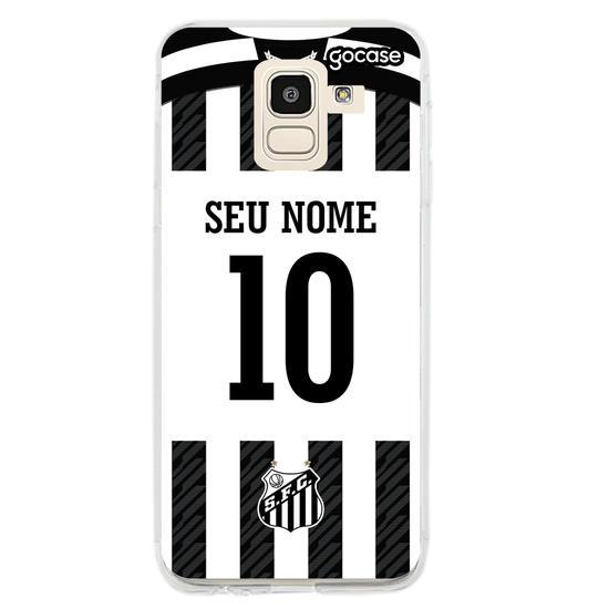 Capinha para celular Santos - Uniforme 2 2020 Personalizado