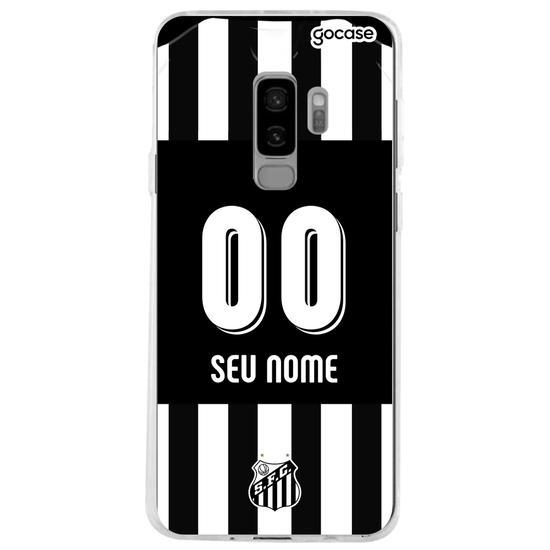 Capinha para celular Santos - Uniforme 2 - 2019