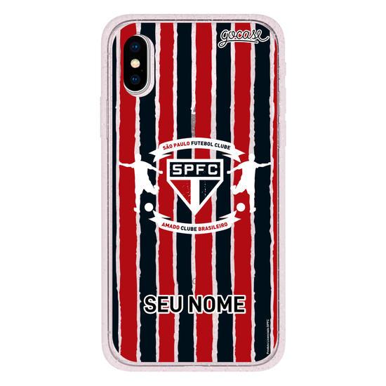 Capinha para celular São Paulo - Escudo Customizável