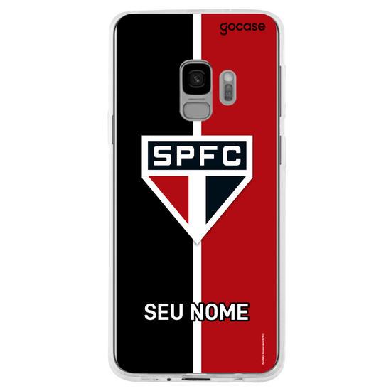 Capinha para celular São Paulo - Tricolor Vertical Customizável