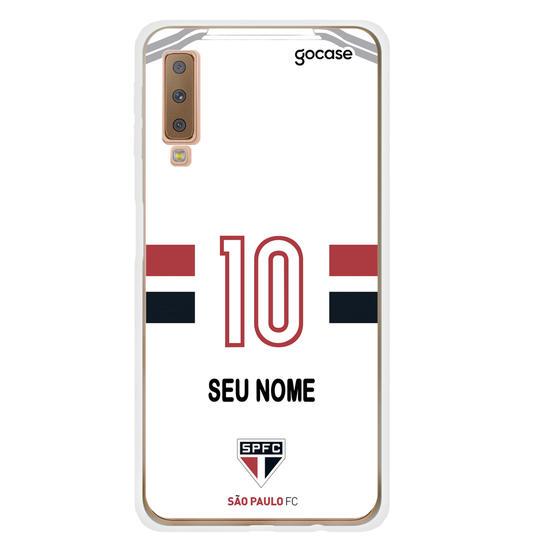 Capinha para celular São Paulo - Uniforme 1 2020 Personalizado