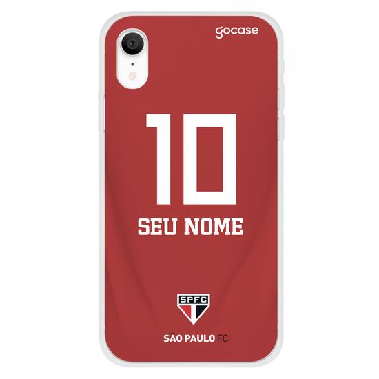 Capinha para celular São Paulo - Uniforme 2 (2019)