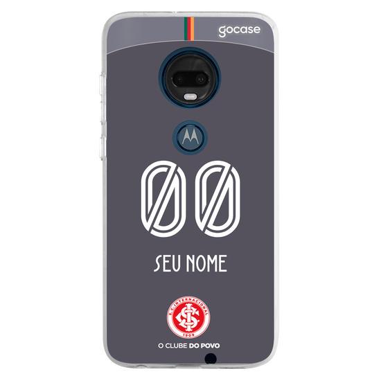Capinha para celular Internacional - Uniforme 3 - 2018 - Personalizado