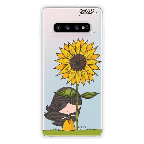 Capinha para celular Seja Sol