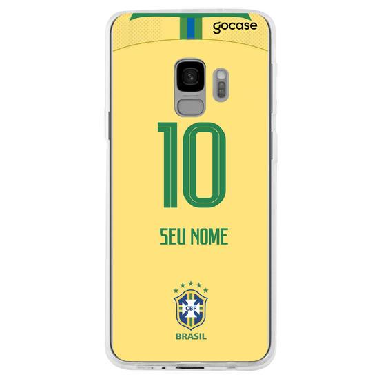 Capinha para celular Seleção Brasileira - Uniforme Amarelo