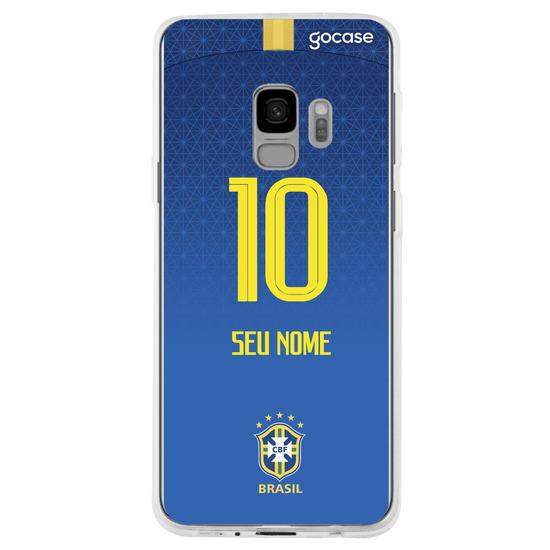 Capinha para celular Seleção Brasileira - Uniforme Azul
