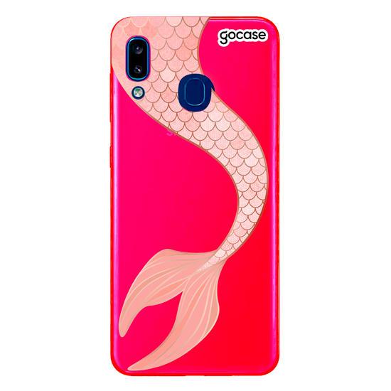 Capinha para celular Sereia Rosê