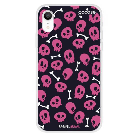 Capinha para celular Skull Heads